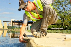 Is there a less costly alternative to concrete replacement?