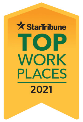 Star Tribune Top Work Places in 2021